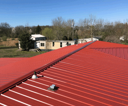 Difference Between Standing Seam Metal Roofs And
